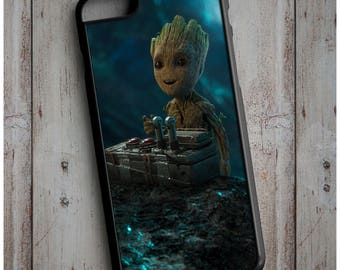 Baby Groot Guardians of the Galaxy Vol. 2 Marvel Infinity War New Case Cover for any iPhone