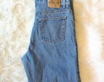 Vintage High Waist Gap Classic Blue Jeans Size 14 90's MOM JEANS