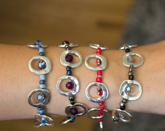 Simple and Colorful Bracelets
