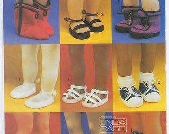 "Vogue 7329 - 18"" Doll Footwear"