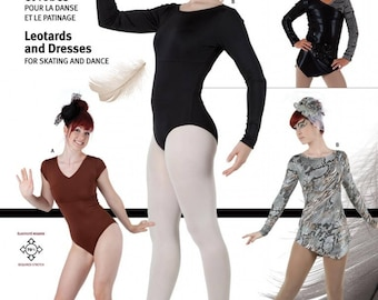 Jalie 3136 - Leotards and Dresses for Skating and Dance / 22 Sizes / Child & Adult