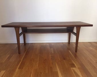 Midcentury Danish Palisander/Rosewood Coffee Table