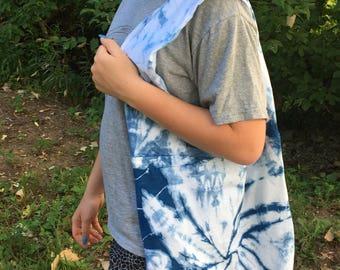 Indigo dyed bag - SUPER SOFT