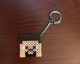 Steve inspired keychain