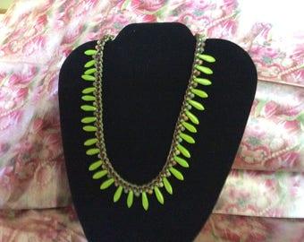 18 inch kumihimo necklace