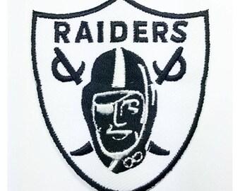 White Raiders Shield Sword Patch W.Ch.Patch