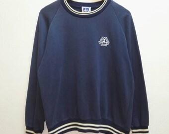 Vintage Sweatshirt Plenty Tough Sport small logo/ Japan/Hip-hop/ PTS sweatshirt