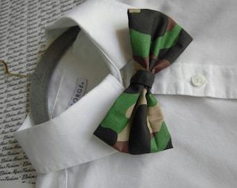 Elegant Styled Army Bowtie