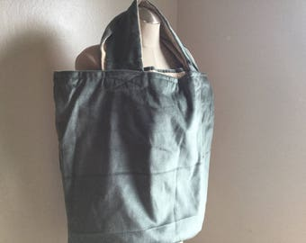 Extra Large Blue Tote