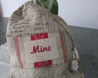 French Storage Bag