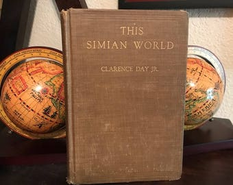 1921 This Simian World, Vintage Book