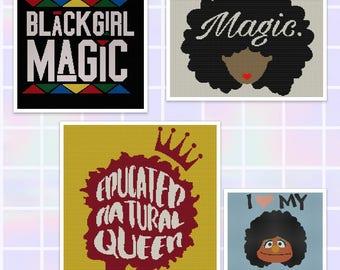 Black Girl Magic Throw