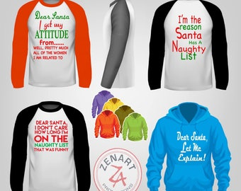 Personalized fun Christmas tees for all!!