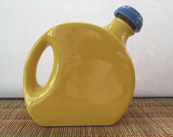 SALE: Yellow Oxford Stoneware Pitcher
