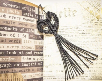 Bohemian bookmark/Macrame bookmark/Midori Travellers notebook bookmark/