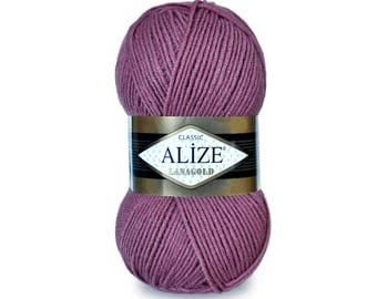 LanaGold Alize yarn Knitting yarn Hand knit yarn Soft yarn Spring yarn Winter yarn Blend wool Wool yarn Acrylic yarn Crochet yarn Blend yarn