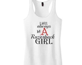 Razorback Girl Women's Racerback