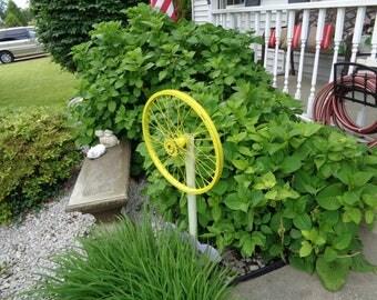 outdoor garden spinner