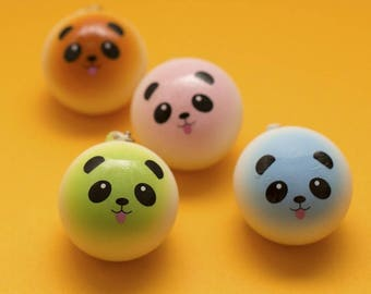 Panda Squishy Charms (Colored)