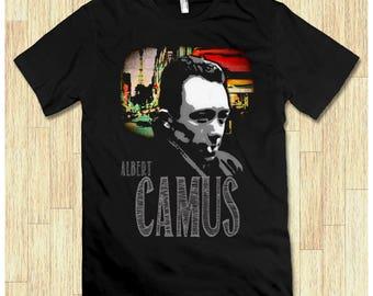 Albert Camus Art Men's Women's T-shirt