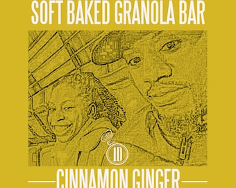 soft baked gluten-free vegan friendly granola bar