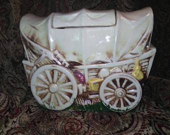 McCoy Covered Wagon Cookie Jar