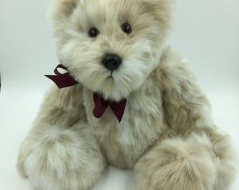 """The Spotted """"Henry"""" One of a Kind, Very soft, Adorable, Child Friendly, Plush, Large, Friendly, Full of Character, Teddy Bear"""