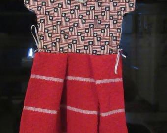 Hanging Doll Dress Towel