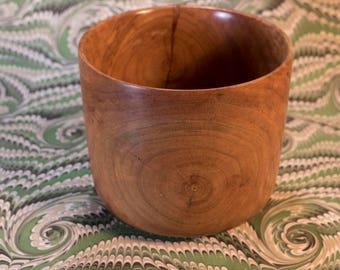 Handmade Cherry Bowl/ Flower Pot