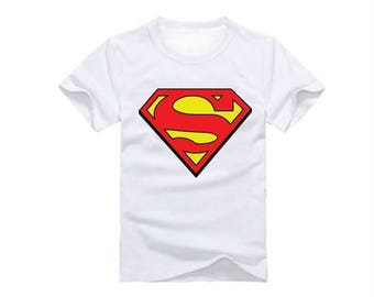 Superman Logo  T-Shirt for children - available in many sizes and colors