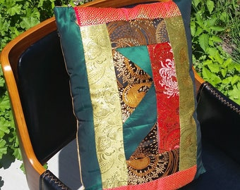 Custom Patchwork/ Quilted Pillows