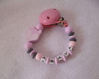 Pink pacifier Amaya Fox