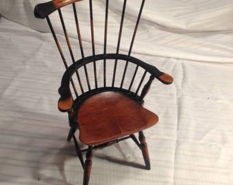 Antique Vintage doll chair or salesman sample