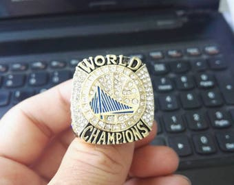 2017 Golden State Warriors NBA championship Ring, #35 Durant Size 6-15