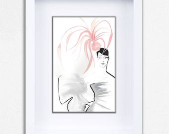 Silly Hat Limited Edition Framed Fine Art Print