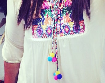 M-L Embroidered Blouse