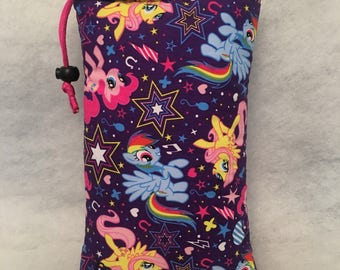 "10"" padded bag with pocket"