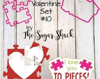 Valentine Cookie Cutter Set #10