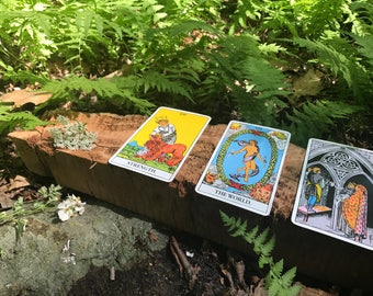 3 Card Video Tarot Reading - Personalized!