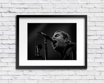 Original Liam Gallagher High Quality Print