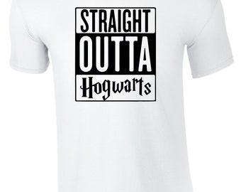 Straight Outta Hogwarts Men's T-shirt