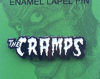 Cramps Logo Enamel Pin