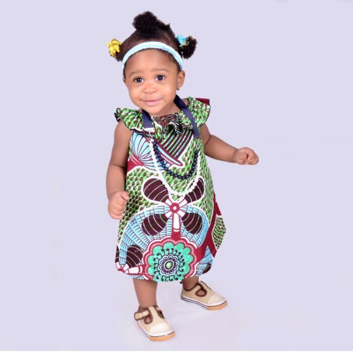 African Baby Dress Baby Girl Dress Girls Party Dress Ankara Dress