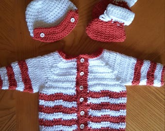 Baby Boy 6-9 month sweater set