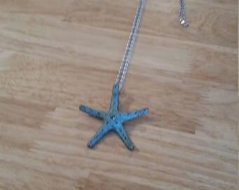 Starfish handmade necklace