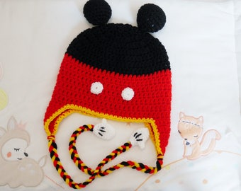 Mickey Hat handmade crochet
