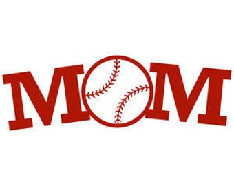 Baseball Mom Decal Etsy - Window decals for vehicles personalized