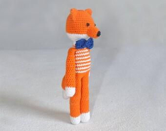 Fox / crochet / toy / animal / plush / amigurumi / stuffed