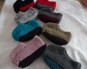 Booties Canadian colors to choose sizes from 36 to 38