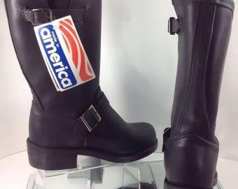 New Size6 Old Stock Gorgia Brand  Moto boots